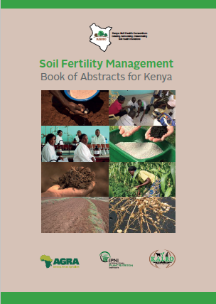 Soil Fertility Management Book of Abstracts for Kenya Image