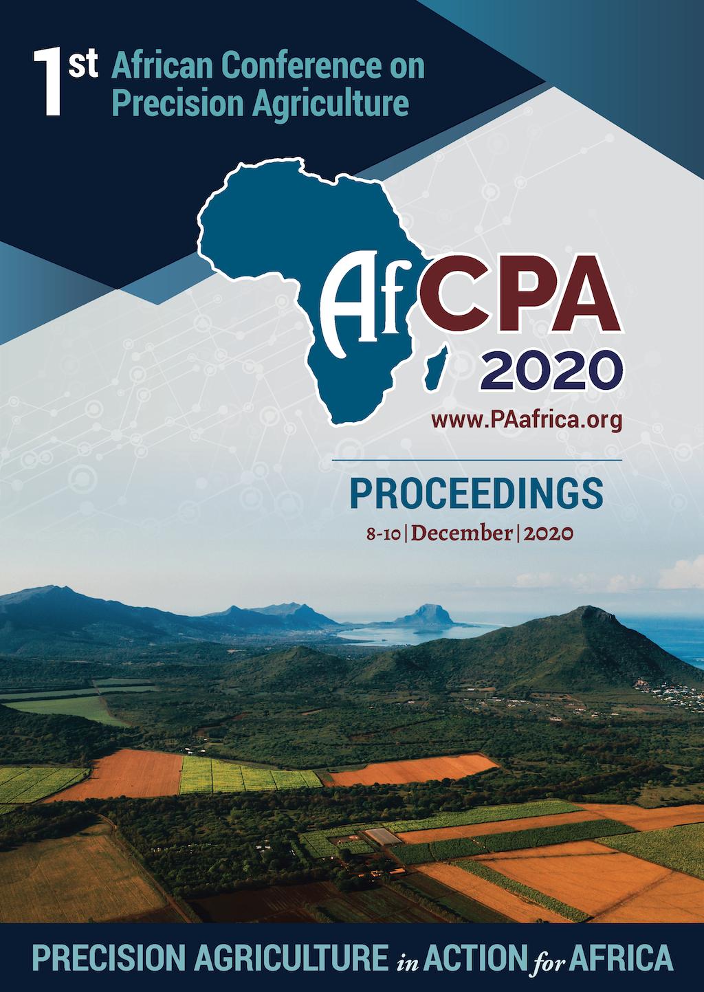 Actes de la 1ère Conférence Africaine de l'Agriculture de Précision Image